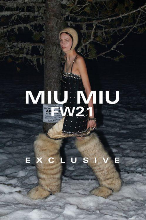 Nina for MIU MIU - Tulip Models Amsterdam
